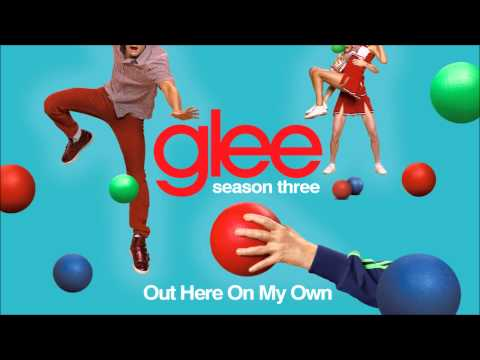 Out here on my own - Glee [HD Full Studio]