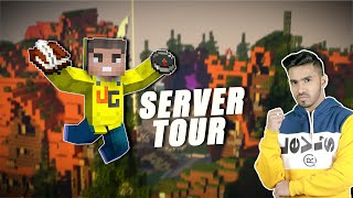 MINECRAFT SERVER TOUR & BED WARS | UJJWAL GAMER