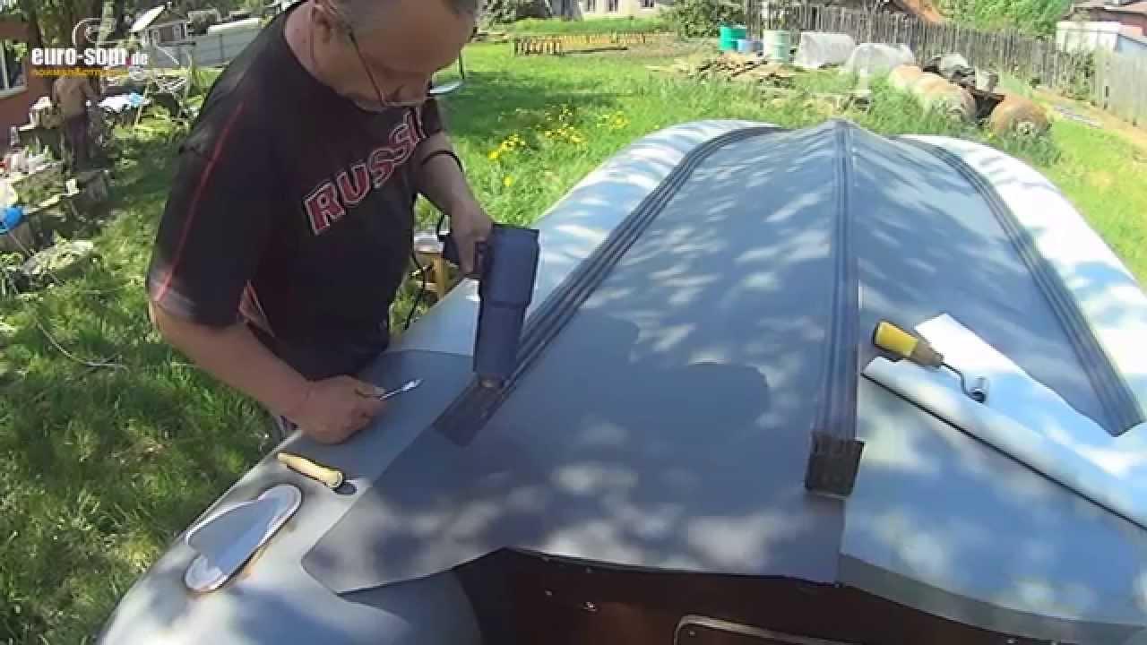 Бронирование лодки пвх своими руками пленкой