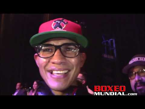 Antonio Orozco talks about his 4th round TKO victory over KeAndre Gibson