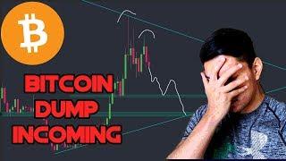BITCOIN FALLING TO $9700!!! | Bitcoin Technical Analysis