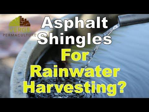 Can You Use Asphalt Shingles for Rainwater Harvesting?