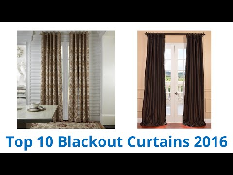10 Best Blackout Curtains 2016