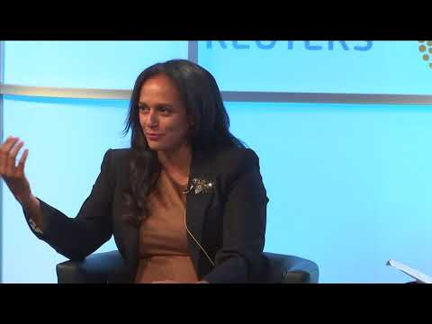 Reuters Newsmaker: Isabel Dos Santos says she made her own wealth