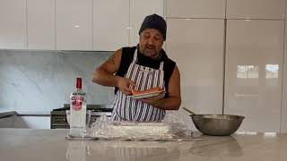 #Susscooks Beetroot & Vodka Cured Salmon Episode 7