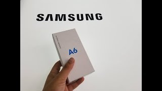 Samsung Galaxy A6 (2018) Unboxing and First Look for metro by T-mobile