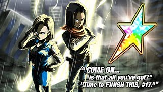 TAKING LR ANDROIDS FROM 0% TO 100% RAINBOW STAR SA20! LR Campaign #2 | Dragon Ball Z Dokkan Battle