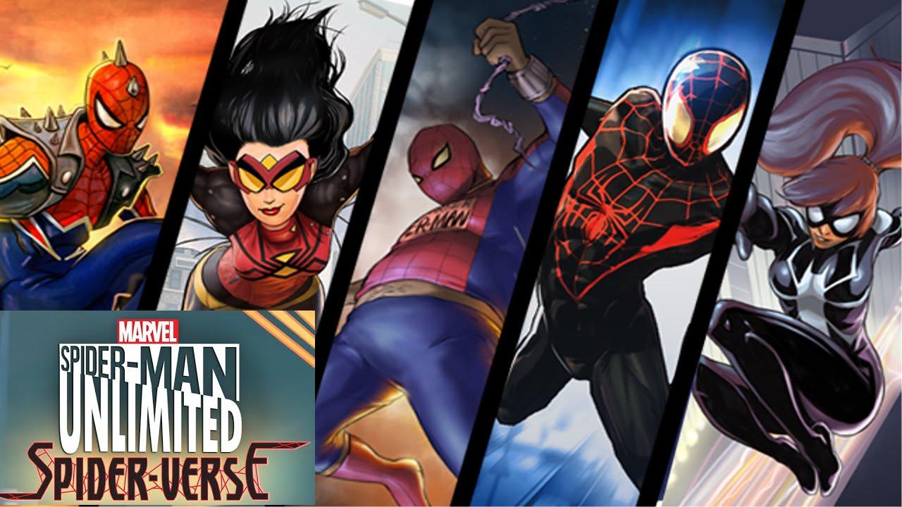 Spider-Man Unlimited (... Mangaverse Spider Man Wallpaper