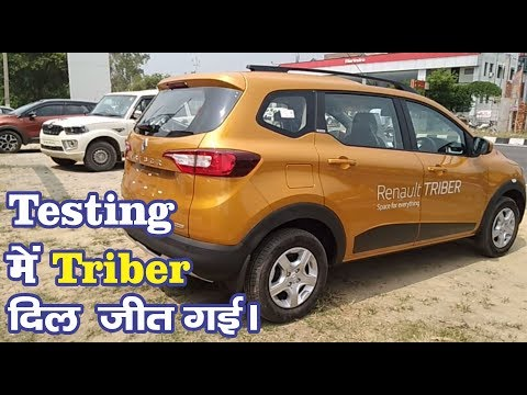 Renault TRIBER TEST Drive Detailed REVIEW with 7 Passengers, Braking, Pick Up, SPACE