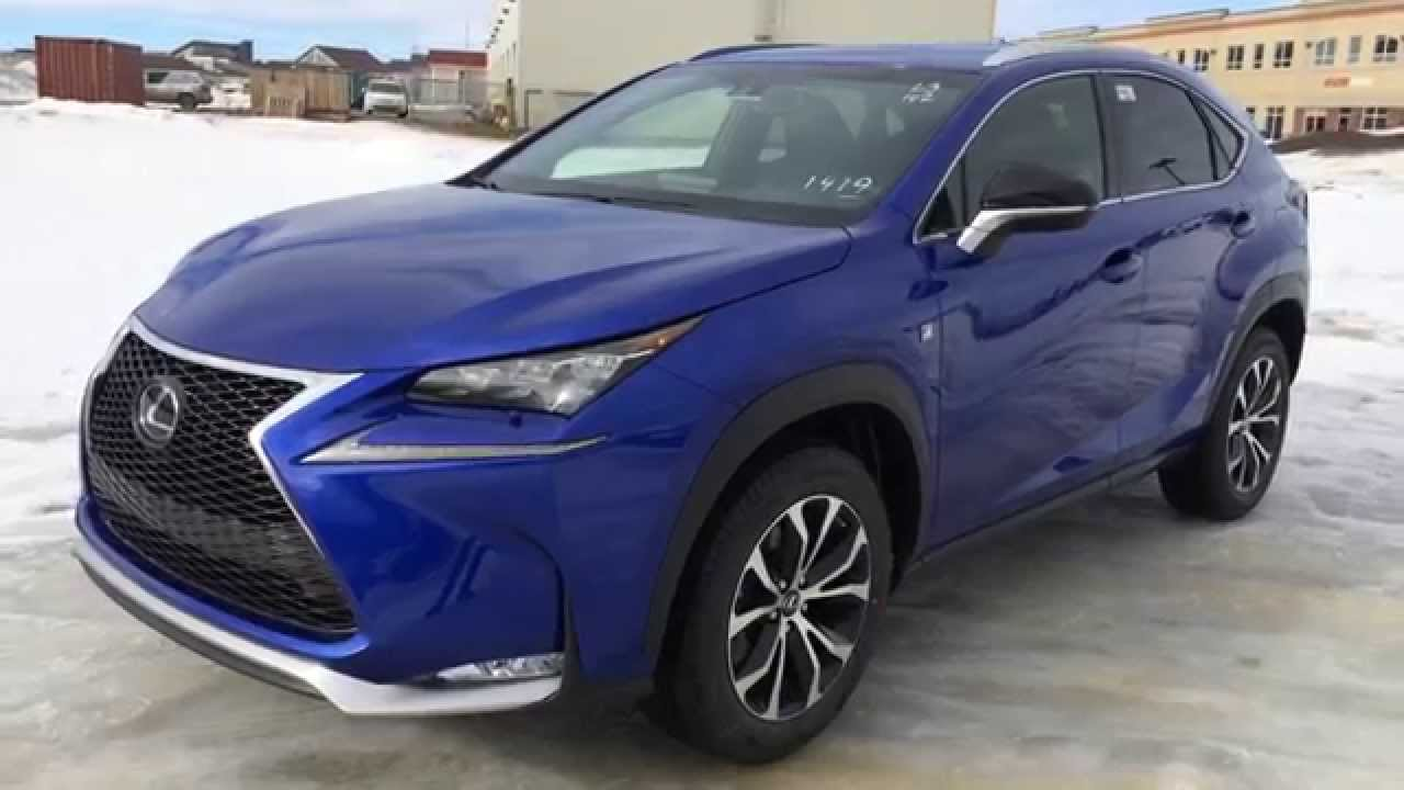 new ultrasonic blue 2015 lexus nx 200t awd f sport series 2 review west edmonton alberta. Black Bedroom Furniture Sets. Home Design Ideas