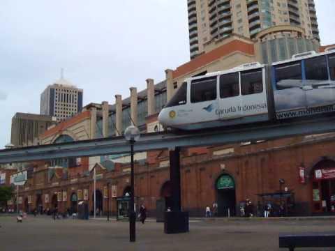 Sydney Monorail ad for Garuda Indonesia