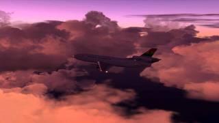 """""""Ghana Airways"""" DC-10 Abidjan, Ivory Coast to Accra, Ghana: Vignette 1 of 2"""