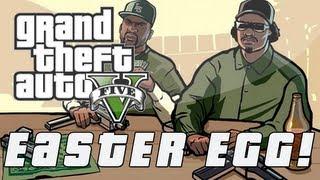 Grand Theft Auto 5 | CJ & Grove Street Gang Easter Egg (GTA V)