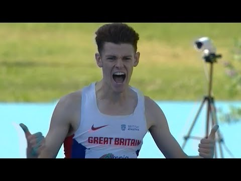 1500m Men FINAL U20 CHAMPIONSHIPS - GROSSETO 2017