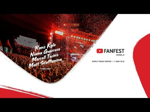 YouTube FanFest Philippines 2018 - Livestream