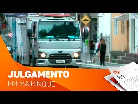 Mais de 40 pessoas são julgadas em Mairinque - TV SOROCABA/SBT