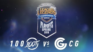 Video 100 vs. CG  | NA LCS Spring Playoffs | Semifinals Game 3 | 100 Thieves vs. Clutch Gaming download MP3, 3GP, MP4, WEBM, AVI, FLV Agustus 2018
