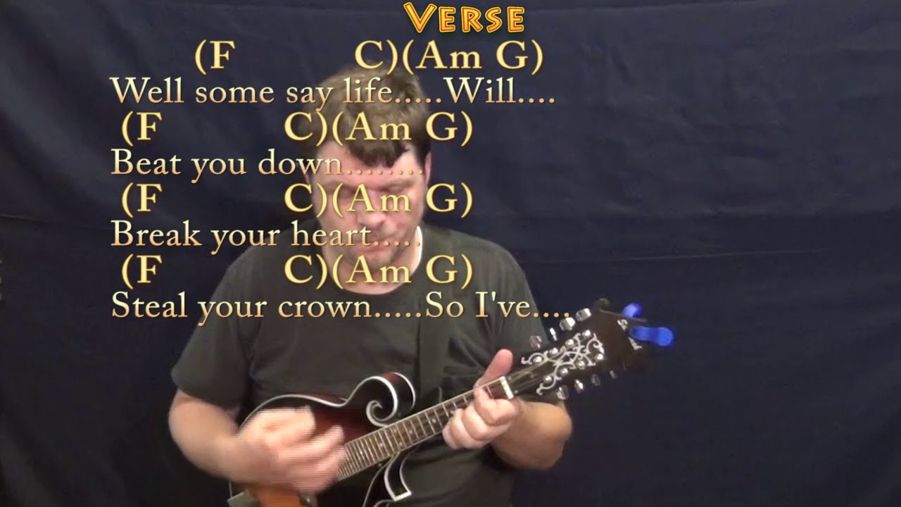 learning to fly tom petty mandolin cover lesson in c with chords lyrics youtube. Black Bedroom Furniture Sets. Home Design Ideas