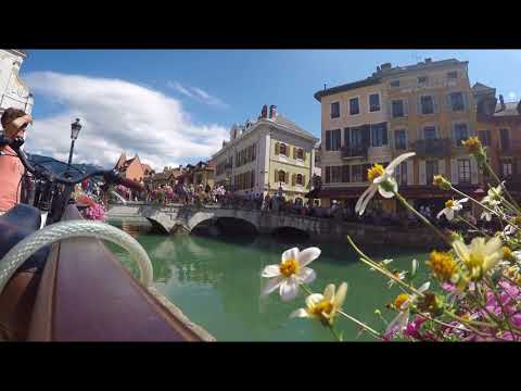 ANNECY, FRANCE - TRAVEL VIDEO