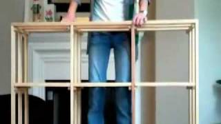 How To Assemble A Stackable Wine Rack Bin From Coastal Custom Wine Cellars