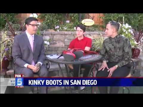 Kinky Boots in San Diego on FOX 5!