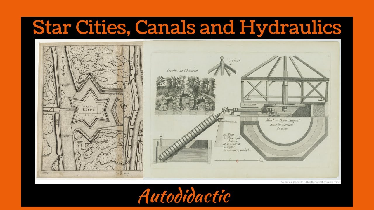 Star Cities, Canals and Hydraulics