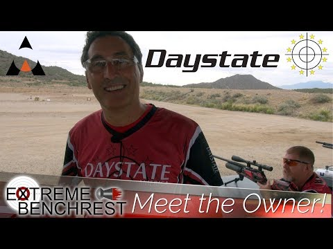 Mauro Marocchi from Daystate at Extreme Benchrest 2018