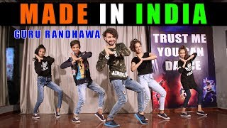 guru randhawa made in india dance video bollyrical vicky patel dance tutorial