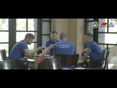 Pemain Timnas Islandia Puji Keramahan Masyarakat Indonesia