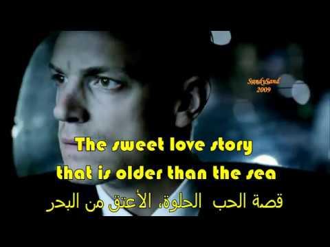 Love Story ( lyrics with Arabic subtitle ) hd -   A new vision