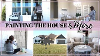 PAINTING OUR PORCH | DAY IN THE LIFE | DIY HOME UPGRADES