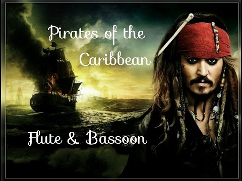Pirates of the Caribbean Flute & Bassoon