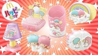 ハッピーセット キキララ リトルツインスターズ サンリオ 全6種 コンプリート  開封 マクドナルド おもちゃ Happy meal toys  Sanrio Little Twin Stars
