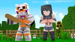 Yandere vs Lolbit?! |The Fight For Funtime Foxy (Minecraft Daycare Roleplay)