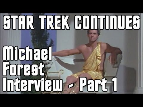 Michael Forest   Part 1  Star Trek Continues BTS