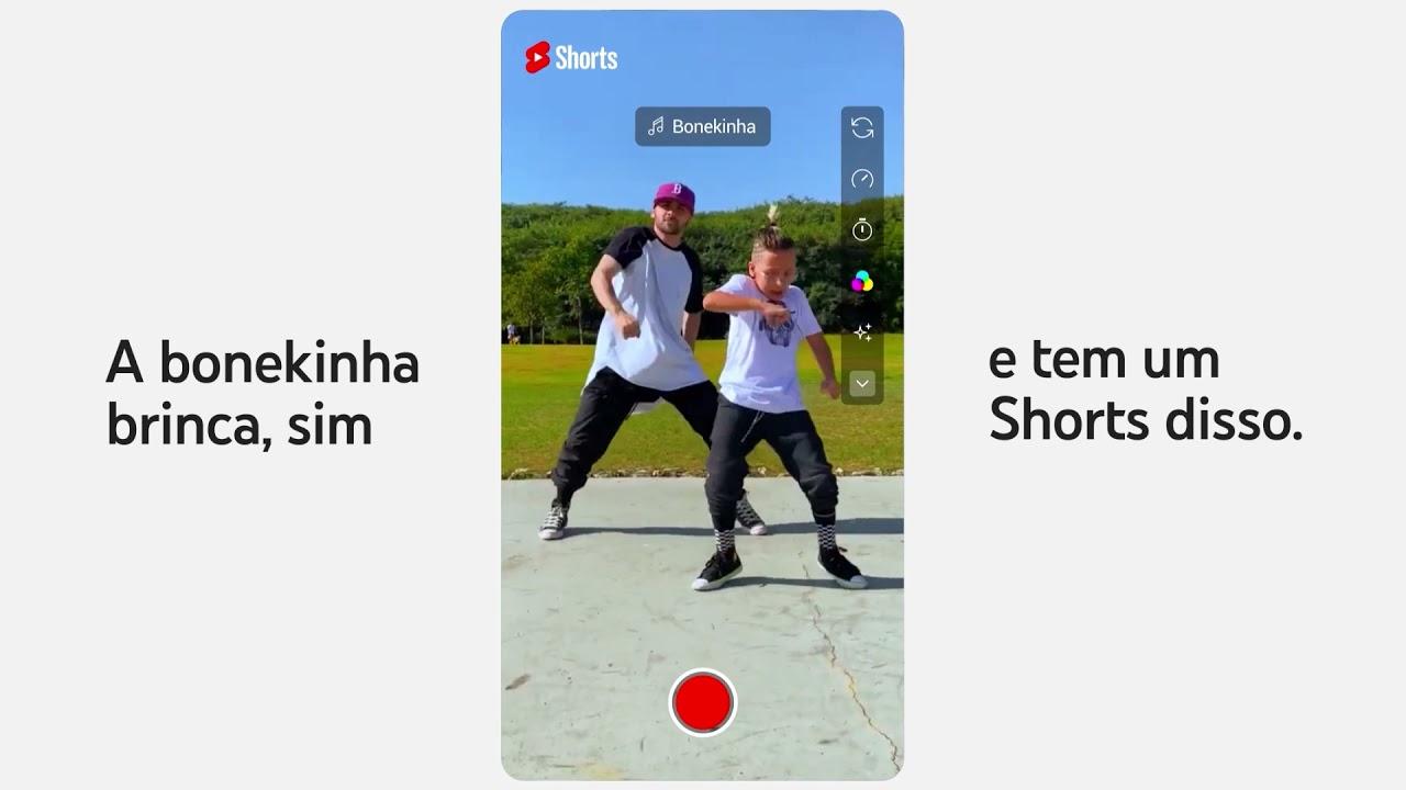O YouTube Shorts tá na área