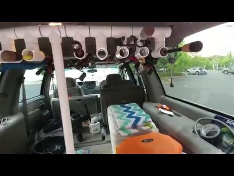 Fishing Tackle Setup In SUV