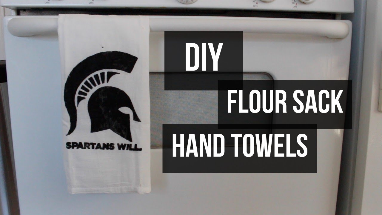 DIY | Flour Sack Hand Towel