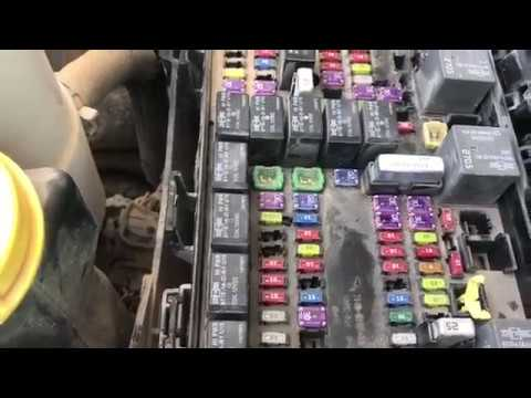 hqdefault 2013 2014 2015 dodge ram ignition node fuse box or tipm totally ram 1500 fuse box at honlapkeszites.co