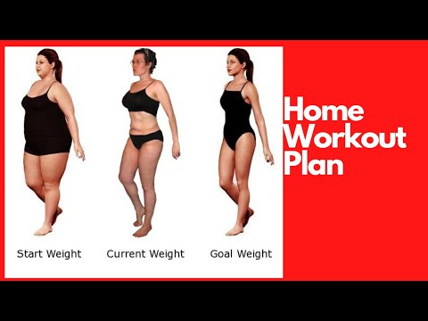 How to Home Workout Plan for Weight Loss 2020