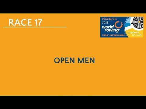 2019 World Rowing Indoor Champs: Open Men's 2000m