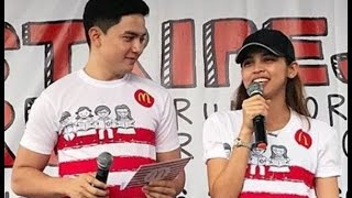 eat bulaga january 2 2017 behind the scenes alden and maine both present at mcdostriperun