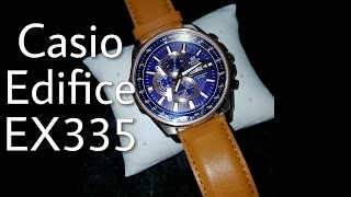#Casio #Edifice EFR - 549L Watch Review EX335