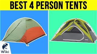 10 Best 4 Person Tents 2019
