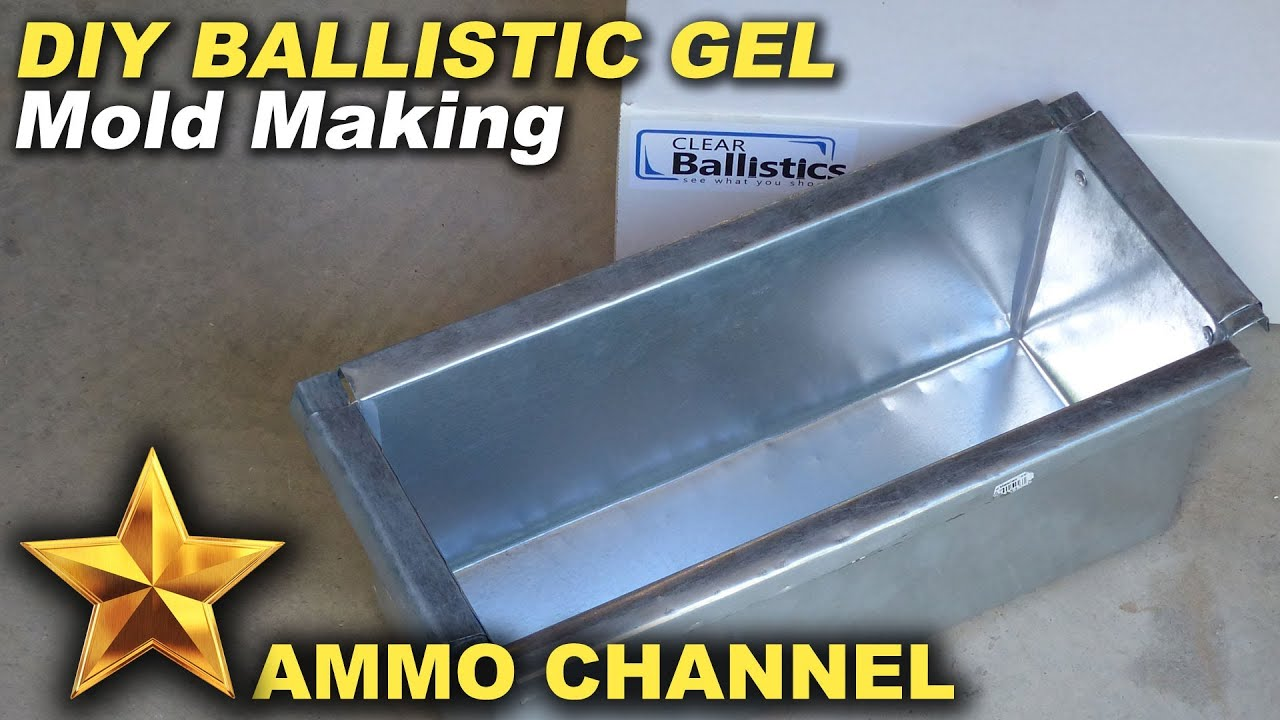 Ballistics gel recipe mythbusters
