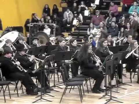 "Fluvanna Middle School 7th Grade Band: ""Once Upon a December"""