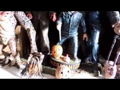 minha-coleçao-de-figures-de-terror,-freddy-jason,-michael-myers,-leatherface