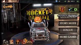 Rocket car  ball kral burda