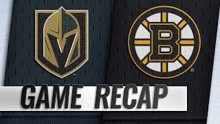 Pastrnak, Halak power Bruins past Golden Knights