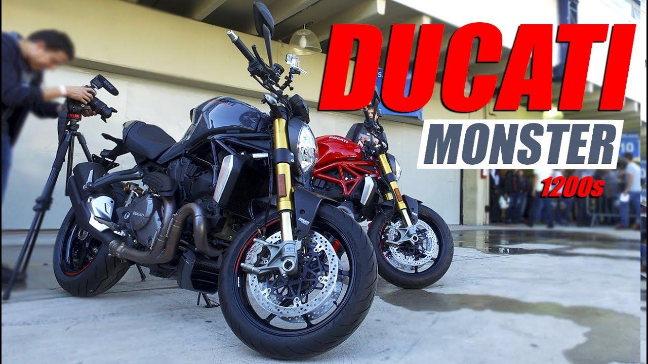 Ducati Monster 1200 S 2017 Motocombr Youtube